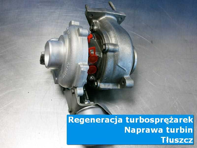 Turbosprężarka po wymianie w nowoczesnej pracowni z Tłuszcza