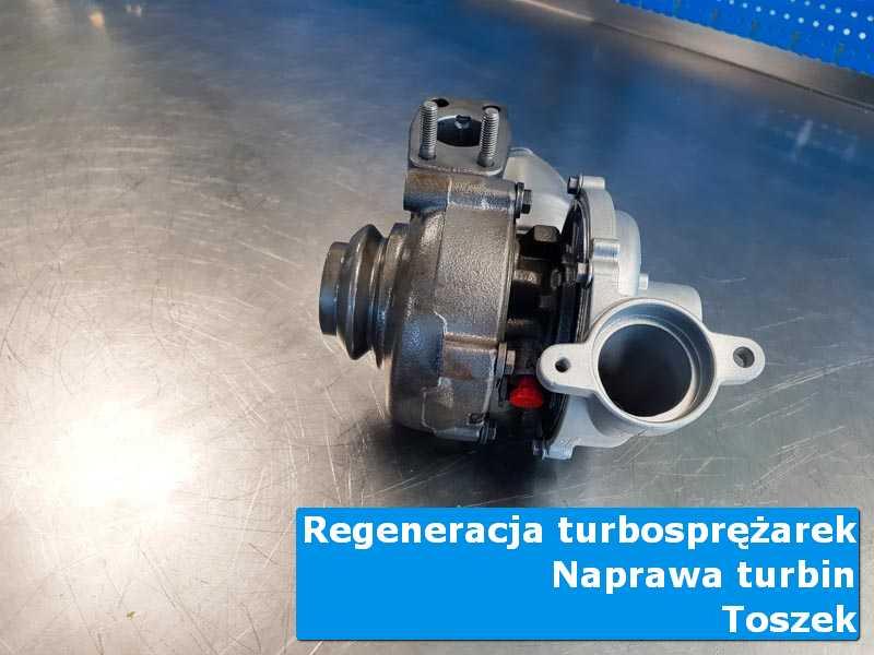 Układ turbodoładowania po naprawie w autoryzowanym serwisie w Toszku