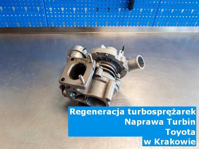 Turbosprężarka z pojazdu marki Toyota remontowana pod Krakowem