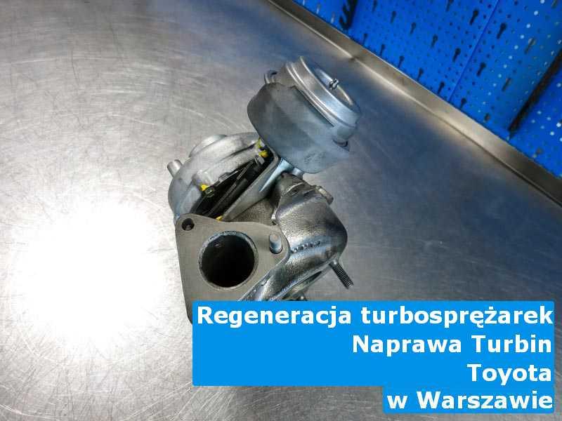 Turbo marki Toyota po przywróceniu osiągów w Warszawie