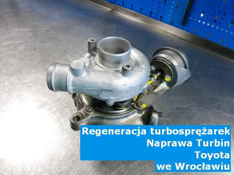 Turbosprężarki z auta Toyota dostarczone do warsztatu z Wrocławia
