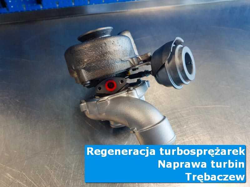 Układ turbodoładowania przed oddaniem do klienta w autoryzowanym serwisie w Trębaczewie