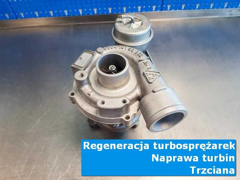 Układ turbodoładowania po wyważaniu u specjalistów z Trzcianny