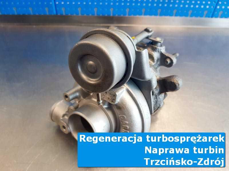 Układ turbodoładowania po demontażu w nowoczesnej pracowni z Trzcińska-Zdroju