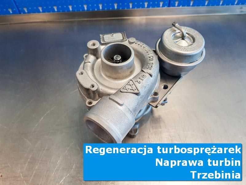 Układ turbodoładowania po wymianie w profesjonalnym serwisie w Trzebini