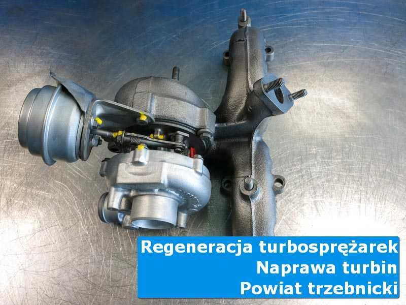 Turbina po naprawie w profesjonalnym serwisie, powiat trzebnicki