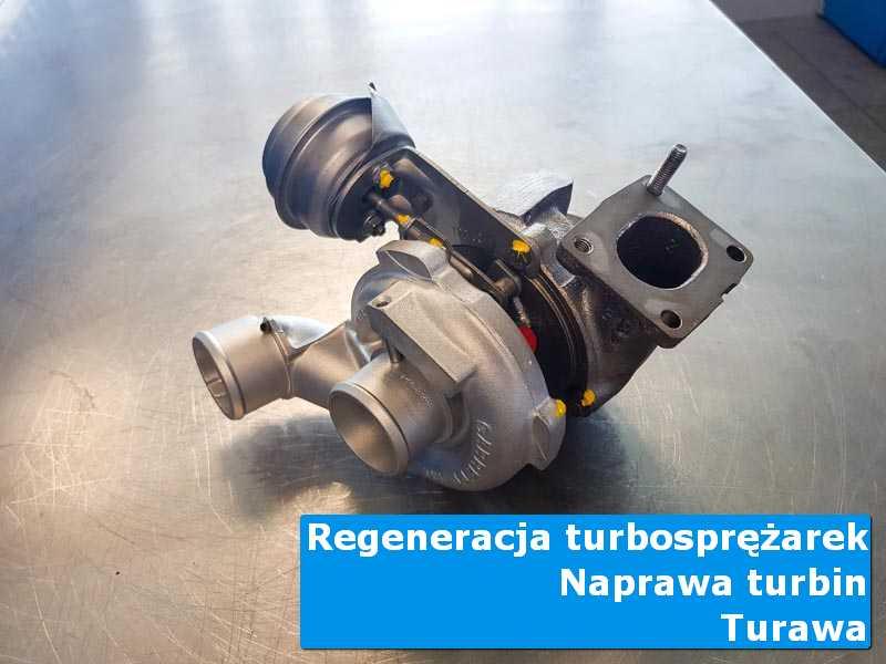 Układ turbodoładowania po przywróceniu sprawności w profesjonalnym serwisie w Turawie