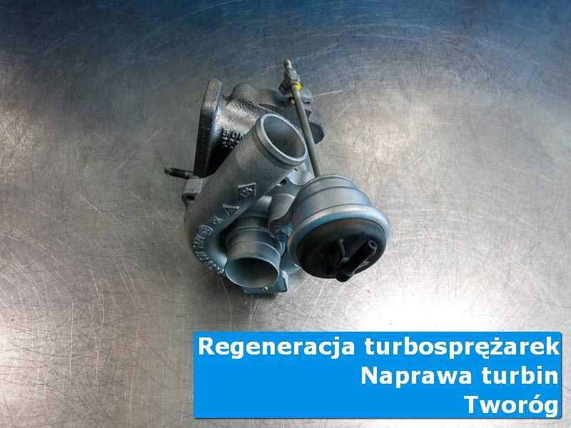 Układ turbodoładowania po serwisie w profesjonalnym serwisie z Tworoga