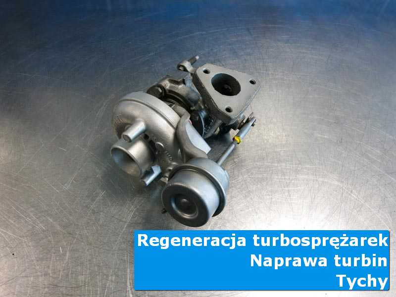 Turbosprężarka po przygotowaniu w nowoczesnej pracowni w Tychach