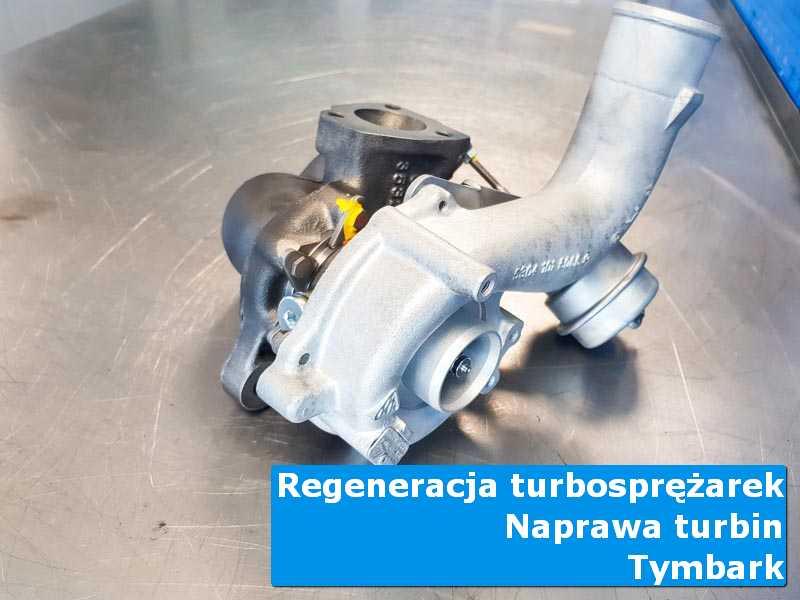 Układ turbodoładowania po demontażu u specjalistów w Tymbarku