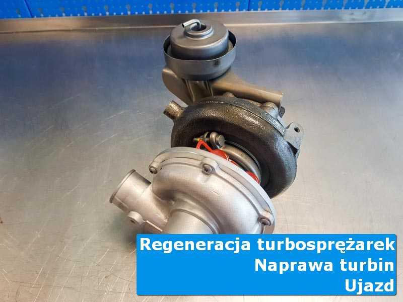 Układ turbodoładowania przed demontażem w laboratorium z Ujazdu