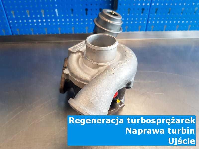 Układ turbodoładowania po regeneracji w pracowni z Ujścia