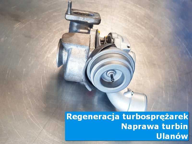 Układ turbodoładowania po przygotowaniu w autoryzowanym serwisie z Ulanowa