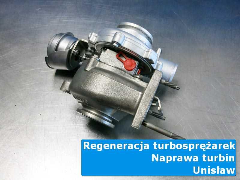 Układ turbodoładowania po przywróceniu sprawności w warsztacie w Unisławiu