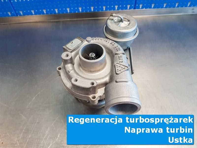 Turbosprężarka przed montażem w nowoczesnej pracowni w Ustce