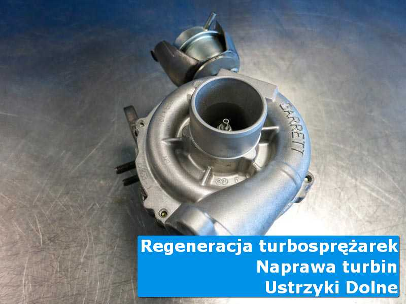 Układ turbodoładowania przed demontażem w profesjonalnym serwisie z Ustrzyków Dolnych