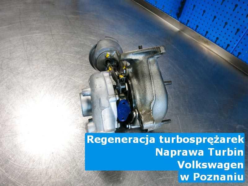 Turbina marki Volkswagen przed wysłaniem z Poznania