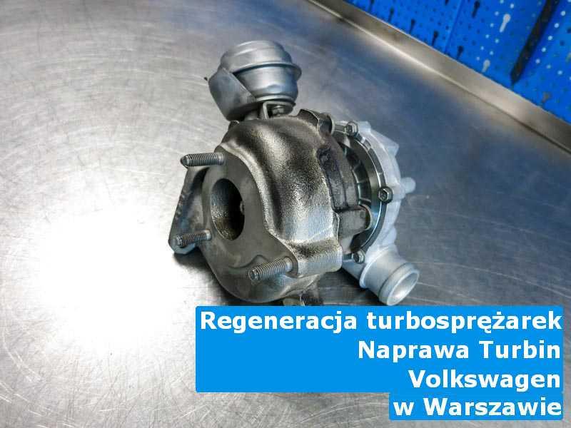 Turbosprężarka z auta Volkswagen czyszczona w Warszawie