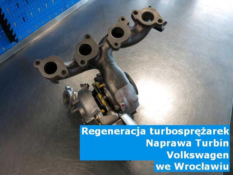 Turbina z pojazdu marki Volkswagen zregenerowana w Wrocławiu