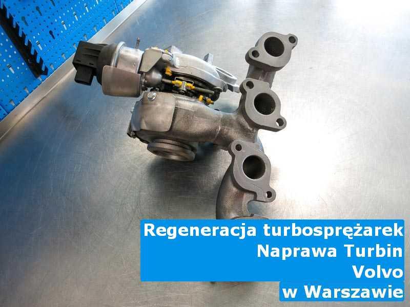 Turbosprężarka z samochodu Volvo przywrócona do pełnej sprawności z Warszawy