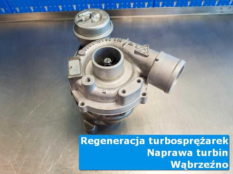 Układ turbodoładowania przed pakowaniem u specjalistów z Wąbrzeźna