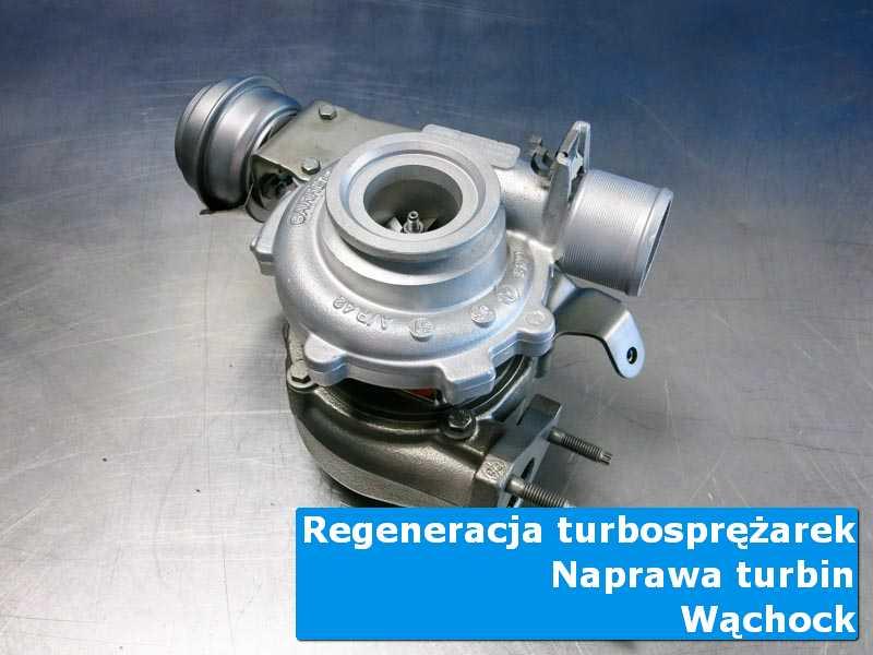 Układ turbodoładowania przed wymianą w laboratorium z Wąchocka
