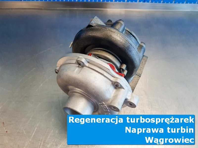 Układ turbodoładowania przed montażem w warsztacie z Wągrowca