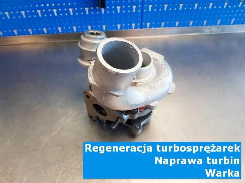 Układ turbodoładowania po przywróceniu sprawności w specjalistycznej pracowni w Warce