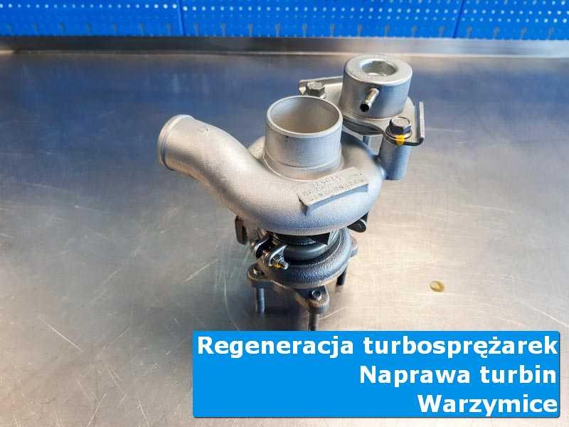 Turbosprężarka po demontażu w specjalistycznej pracowni w Warzymicach