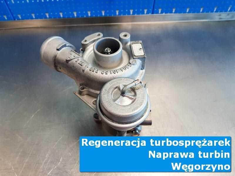 Turbosprężarka przed montażem u fachowców z Węgorzyna