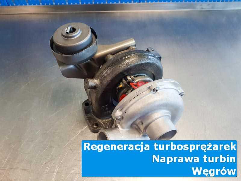 Turbosprężarka po przygotowaniu w pracowni z Węgrowa