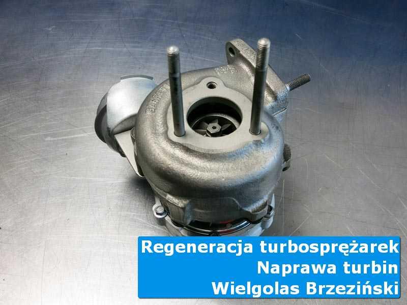 Turbosprężarka po przygotowaniu w profesjonalnym serwisie w Wielgolesie Brzezińskim