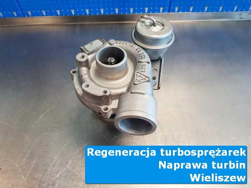 Turbosprężarka po wymianie w specjalistycznej pracowni z Wieliszewa