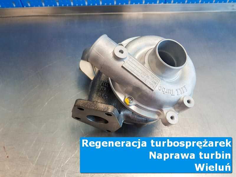 Układ turbodoładowania po regeneracji w laboratorium w Wieluniu