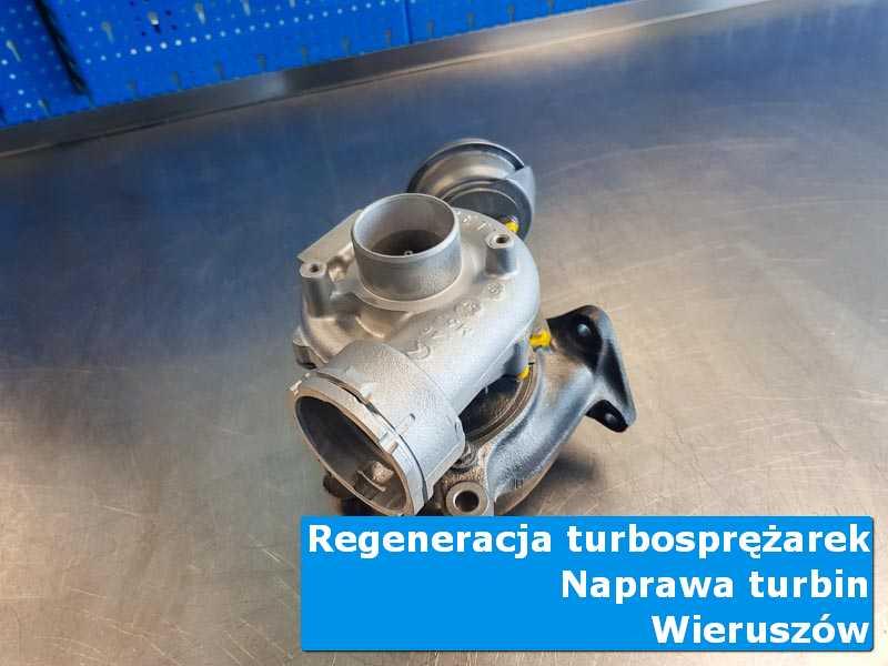 Turbosprężarka po demontażu w pracowni z Wieruszowa