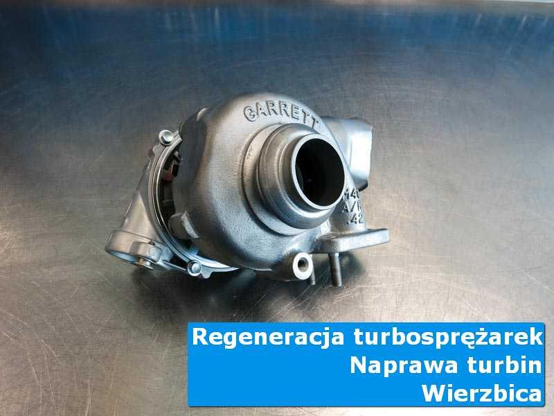 Turbosprężarka po wymianie w laboratorium w Wierzbicy
