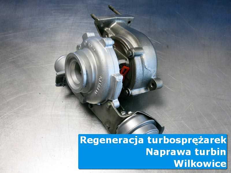 Układ turbodoładowania przed montażem w warsztacie w Wilkowicach