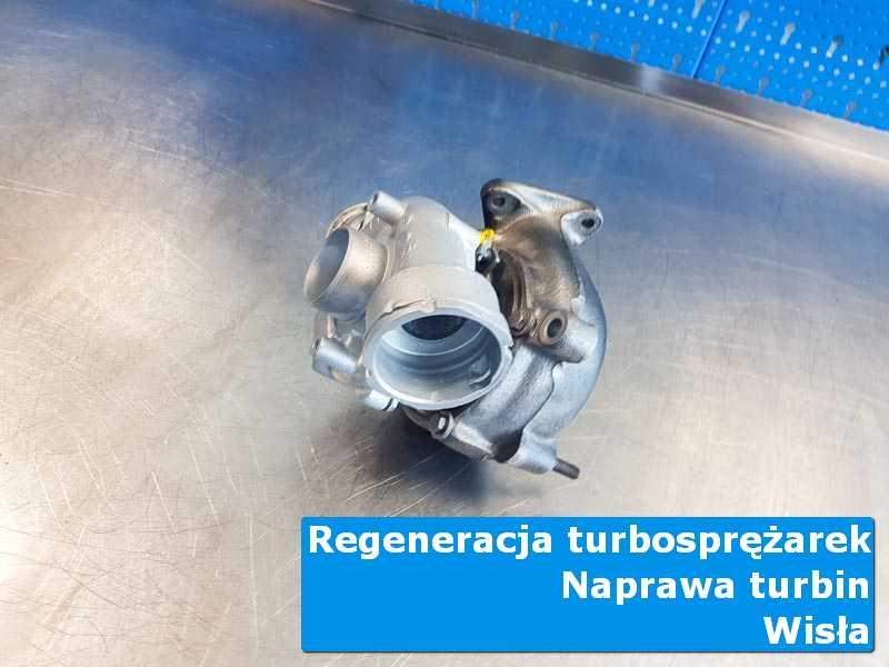 Układ turbodoładowania po przygotowaniu w autoryzowanej pracowni z Wisły