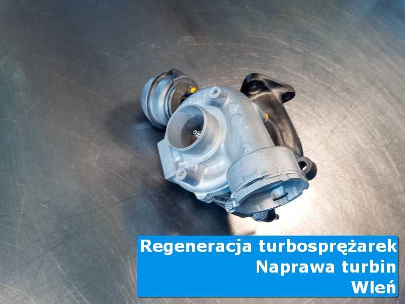 Układ turbodoładowania po przywróceniu sprawności w autoryzowanej pracowni w Wleniu