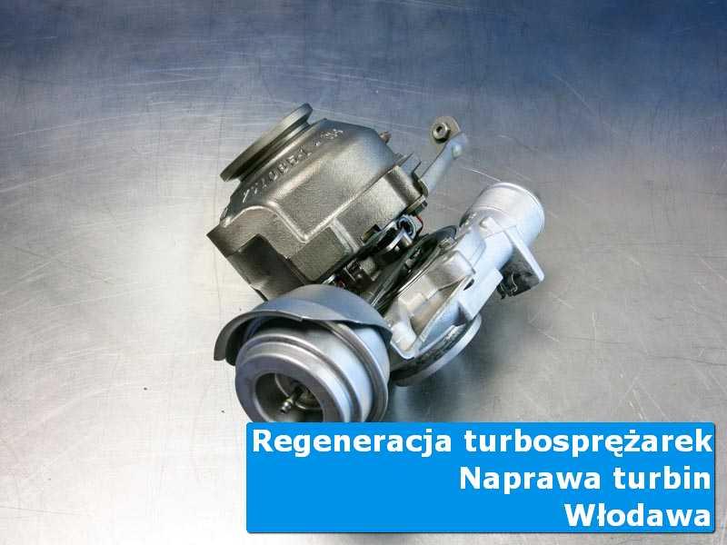 Układ turbodoładowania przed demontażem w autoryzowanym serwisie z Włodawy