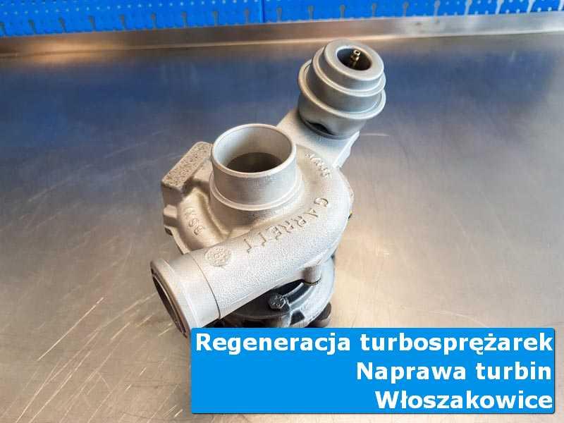 Turbosprężarka po wymianie w laboratorium z Włoszakowic