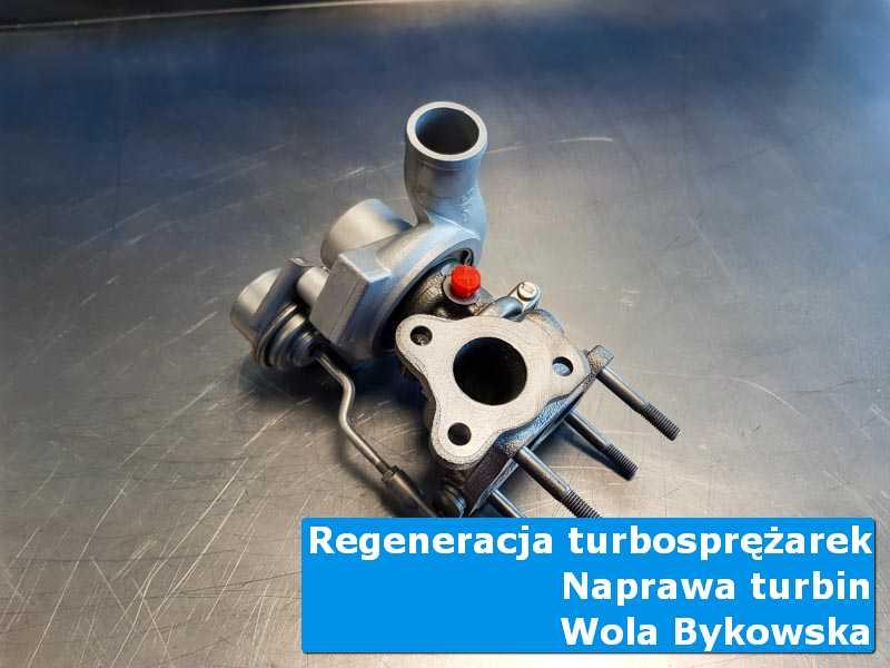 Turbosprężarka przed demontażem u fachowców z Woli Bykowskiej