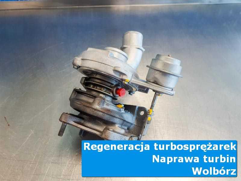 Turbosprężarka przed oddaniem do klienta w laboratorium z Wolborza