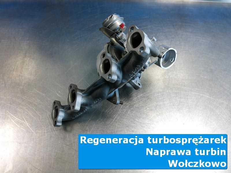 Układ turbodoładowania przed pakowaniem w laboratorium z Wołczkowa