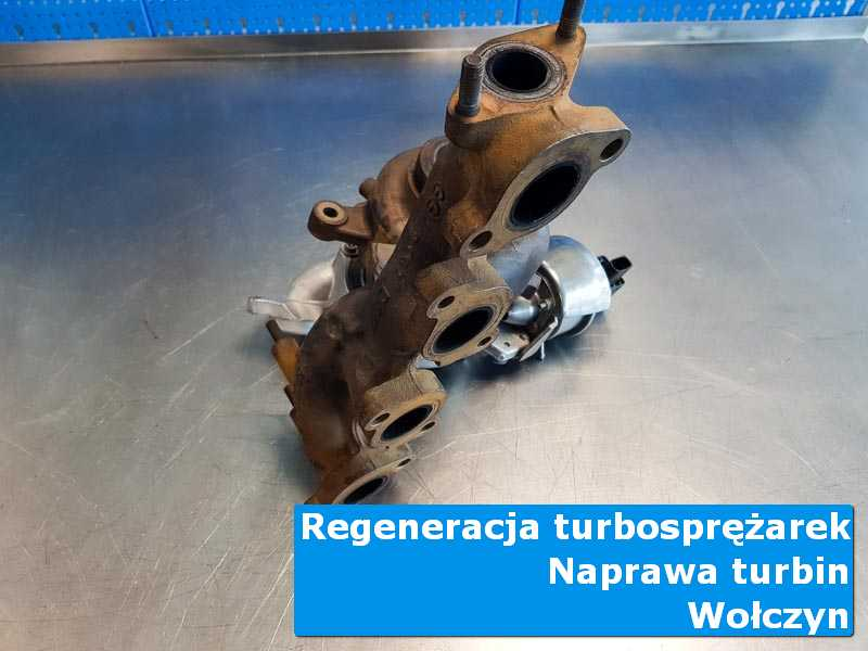 Turbosprężarka po demontażu u specjalistów w Wołczynie