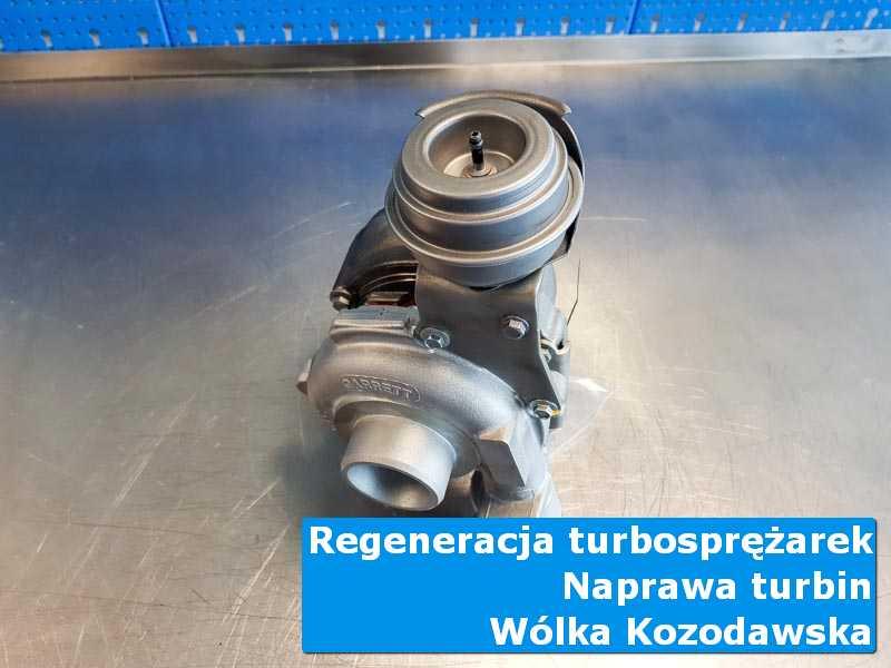 Układ turbodoładowania przed montażem w specjalistycznej pracowni z Wólki Kozodawskiej