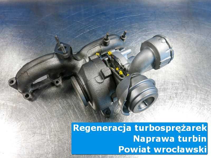 Turbosprężarka po regeneracji w specjalistycznej pracowni, powiat wrocławski