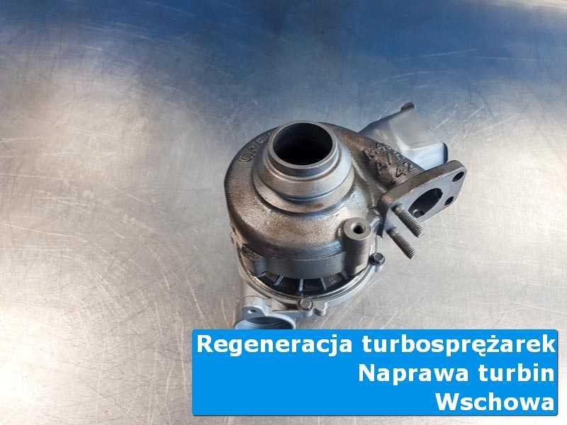 Turbosprężarka po przygotowaniu w laboratorium z Wschowy