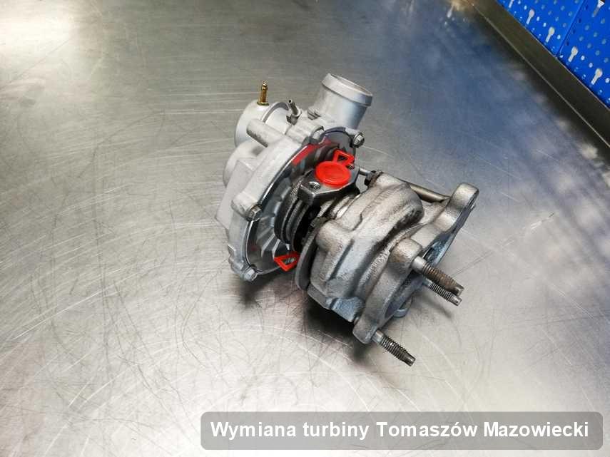 Turbosprężarka po wykonaniu zlecenia Wymiana turbiny w pracowni w Tomaszowie Mazowieckim w doskonałej jakości przed wysyłką