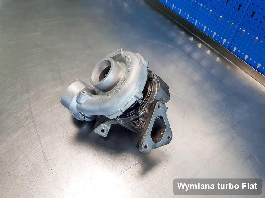 Turbina do pojazdu spod znaku Fiat naprawiona w firmie gdzie zleca się serwis Wymiana turbo